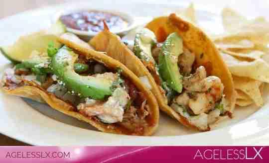 Chipotle-Lime Shrimp & Veggie Tacos