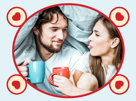 rooibos rocks man and woman drinking tea