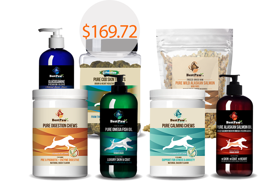 Best Paw Nutrition Whole Body Delux Kit