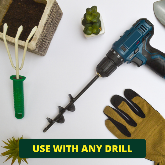 You can use the Drill Planter with any standard drill
