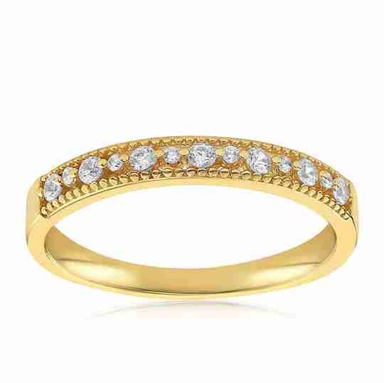 The Blush and Bar Joyce Layered Stack Ring
