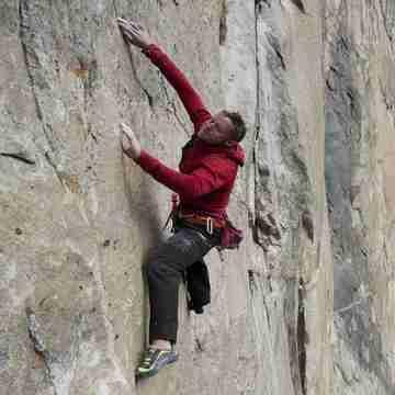 Jonathan Siegrist, professional climber and climbOn Ambassador