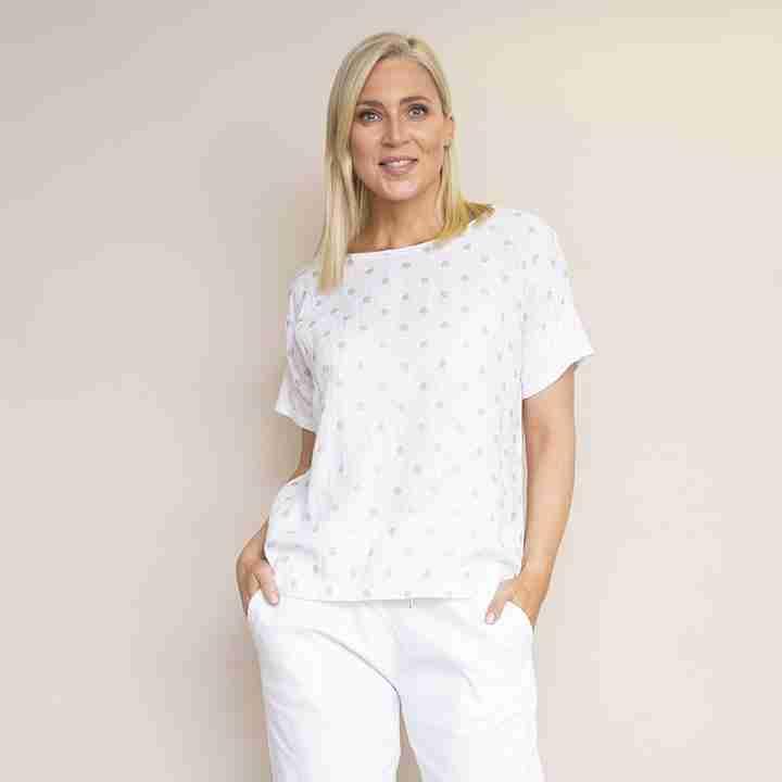 Carmel T-shirt(White)