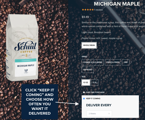 Schuil Coffee Subscriptions How-To