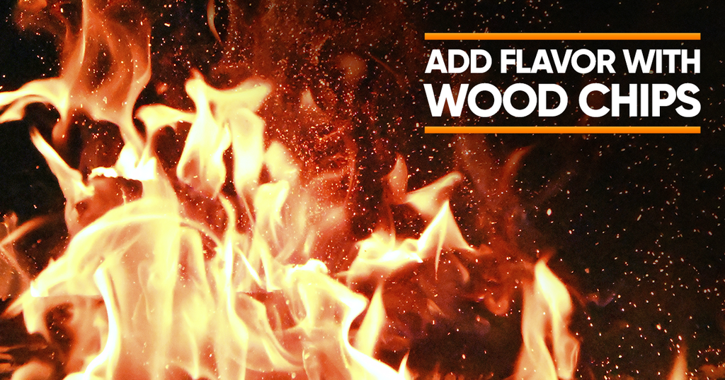 how to add flavor to bbq with wood chips
