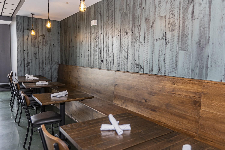 Revival Pizza Commercial Restaurant reclaimed barnwood west chester, pa
