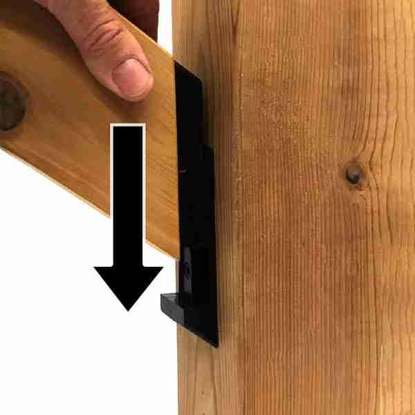 Shadow Rail Connector™ - Stair