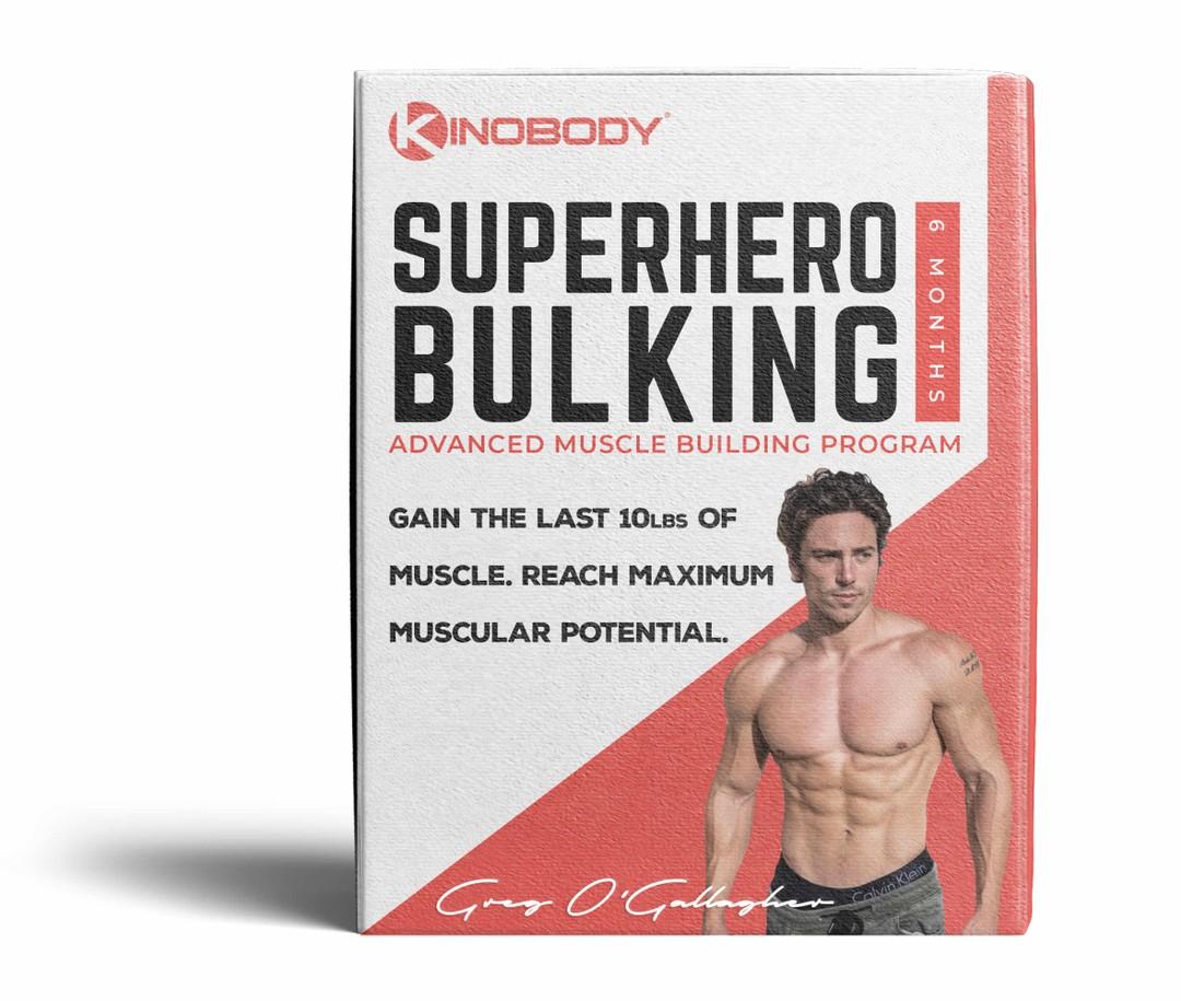 Superhero Bulking Program Example