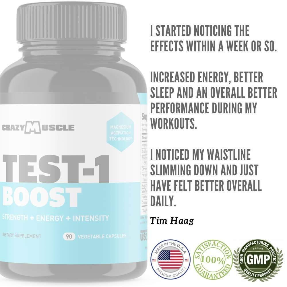 Tim - Crazy Muscle Testimonial