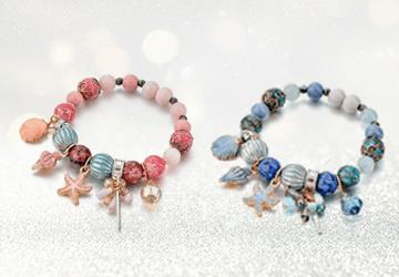 Seaside Summer Beaded Bracelet