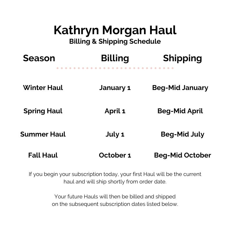 Kathryn Morgan Schedule