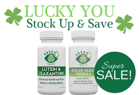 Lucky You Super Sale on Eye Health Vitamins