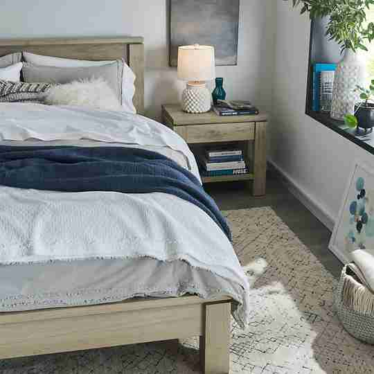 Crate & Barrel bedroom set