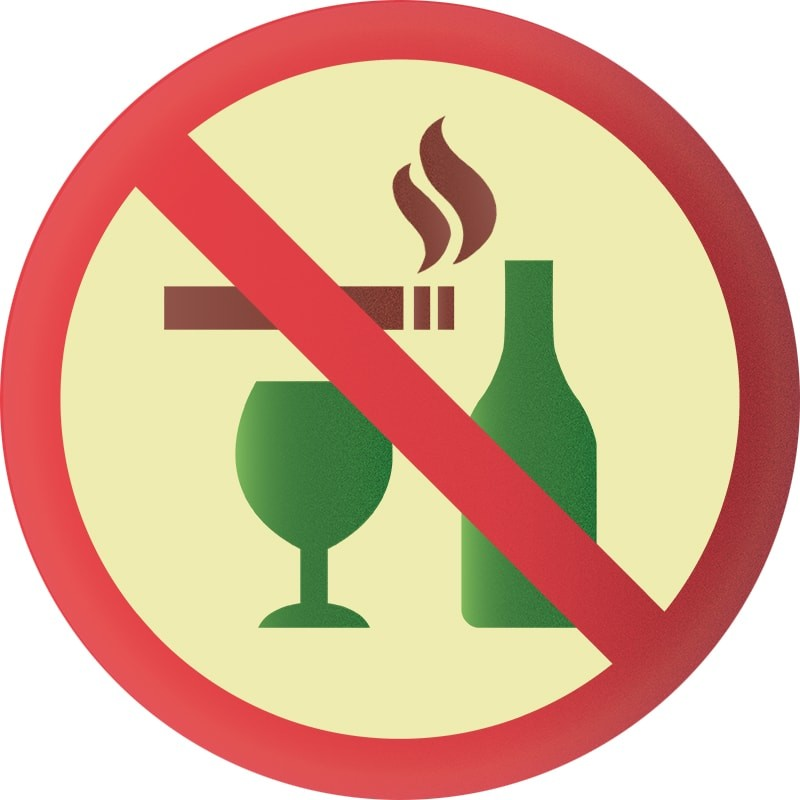 Avoid smoking or alcohol consumption if you snore. These will make you more likely to smoke.