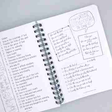 Sibling journal for kids resource
