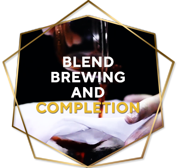 Step 4. Blend, Brewing And Completion
