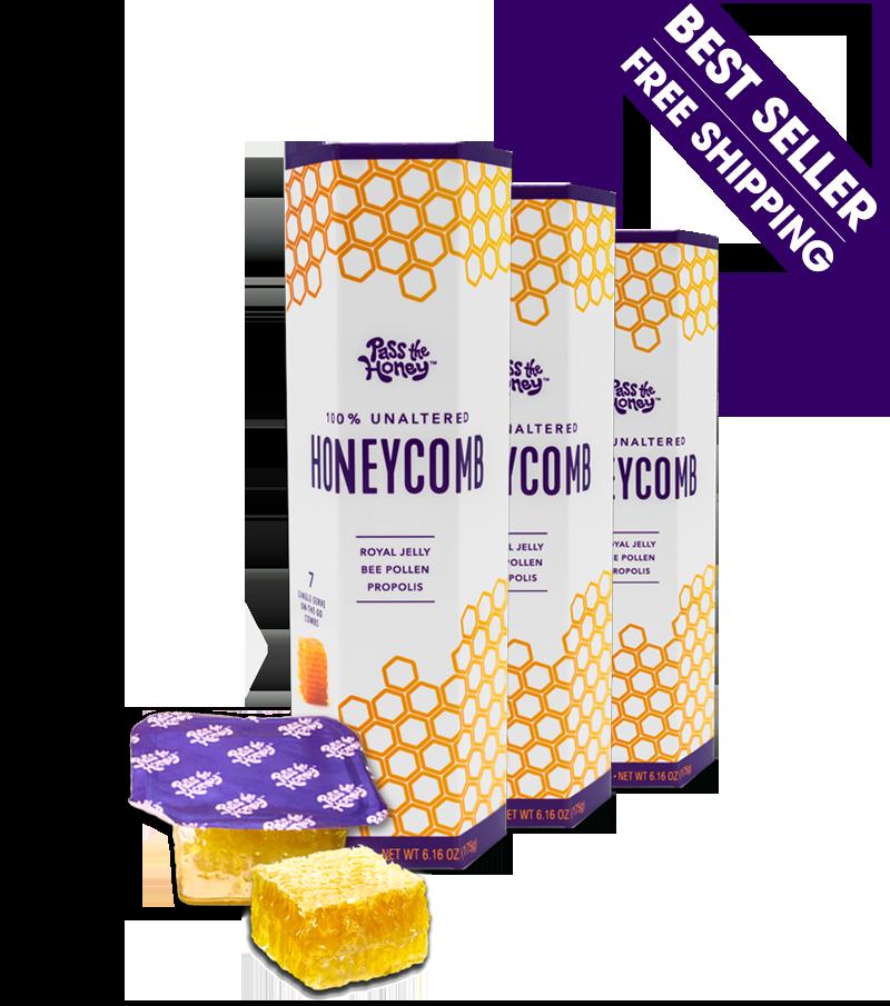 Box of Convenient, Single-Serve Honeycomb