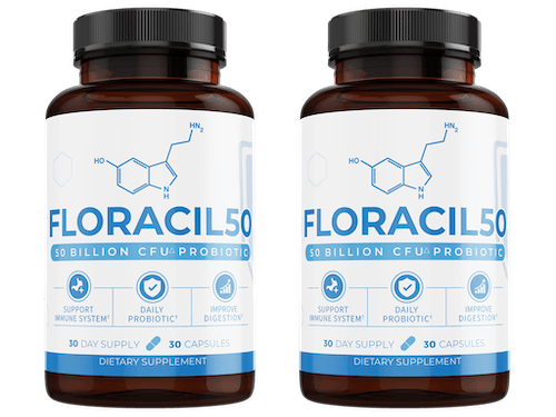 2 bottles of Floracil50