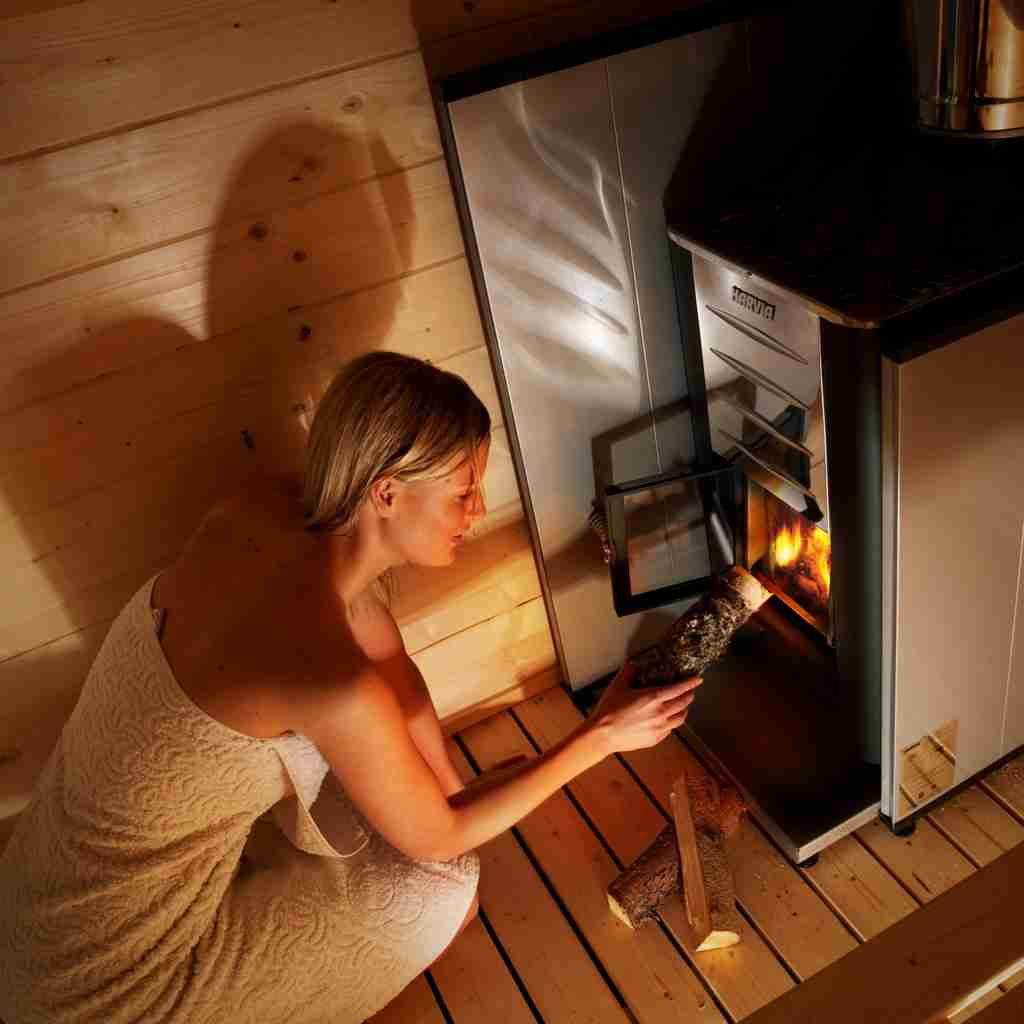 Outdoor Sauna for Skincare