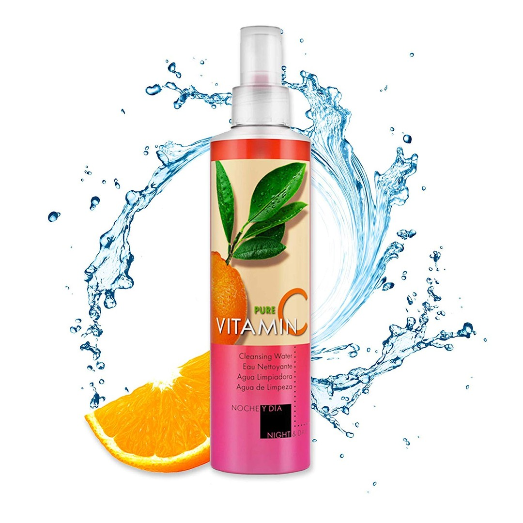 Pictured is Noche Y Dia's Vitamin C Cleanser.