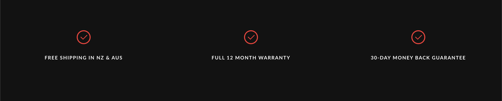 massage guns others 12 months warranty