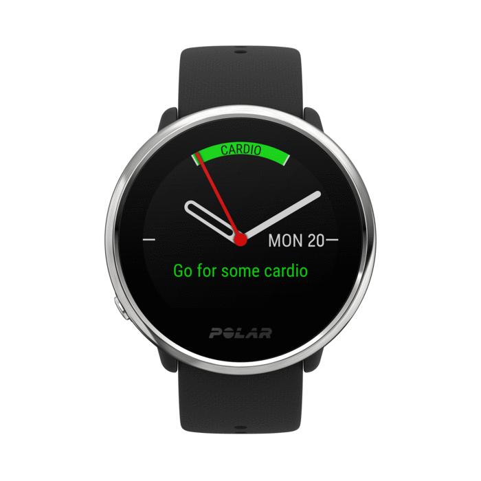Polar Ignite GPS Watch Black Silver