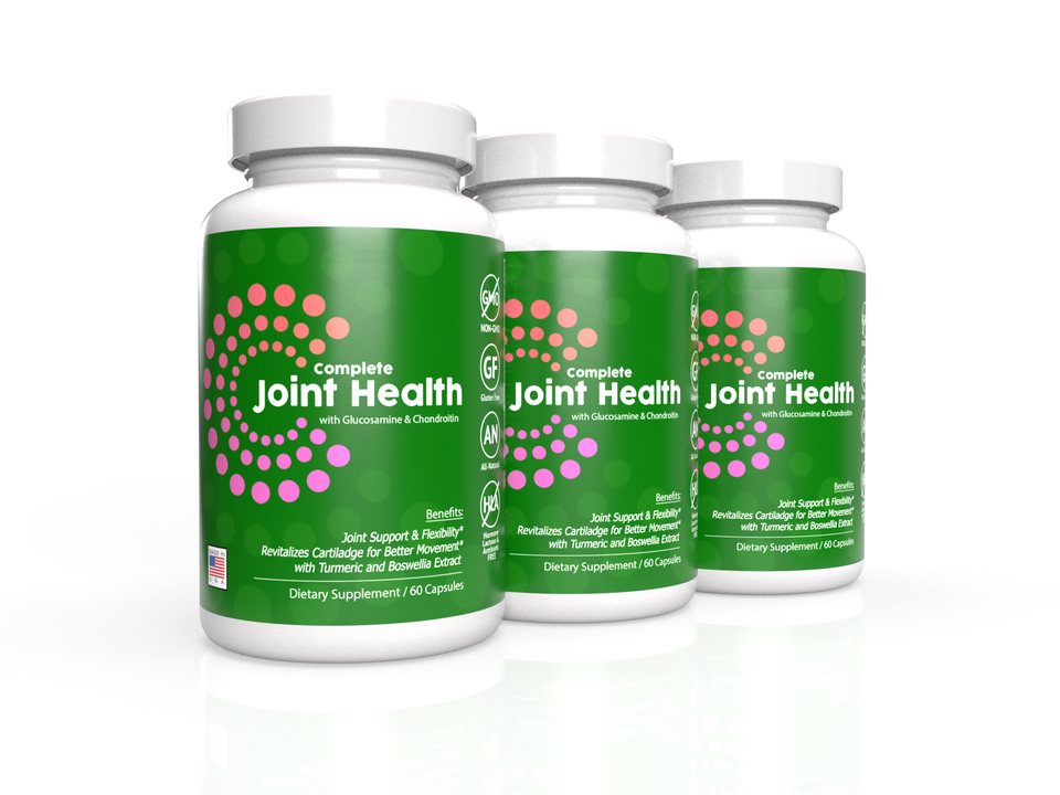 3-Pack: Complete Joint Health