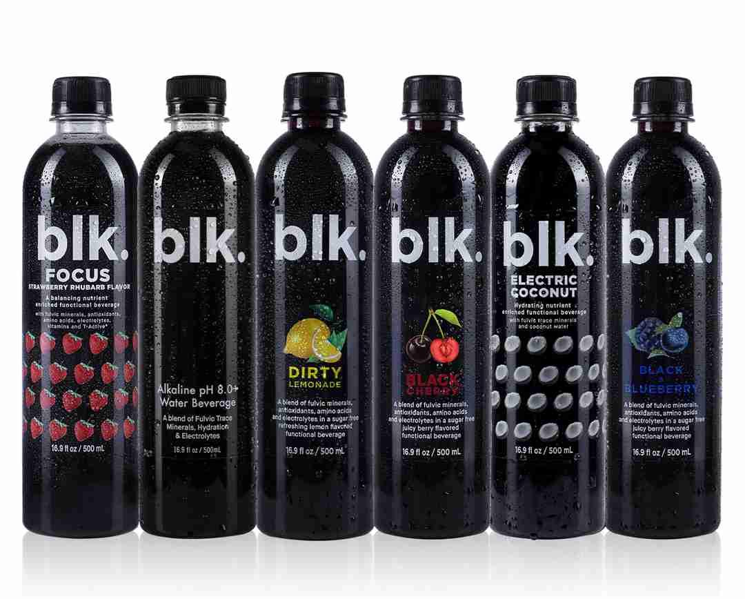 blk. Variety Pack - Focus - Original - Dirty Lemonade - Black Cherry - Electric Coconut - and Black & Blueberry