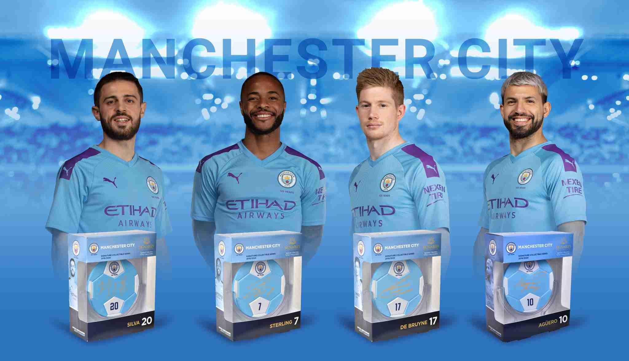 Manchester City F.C. Soccer Players