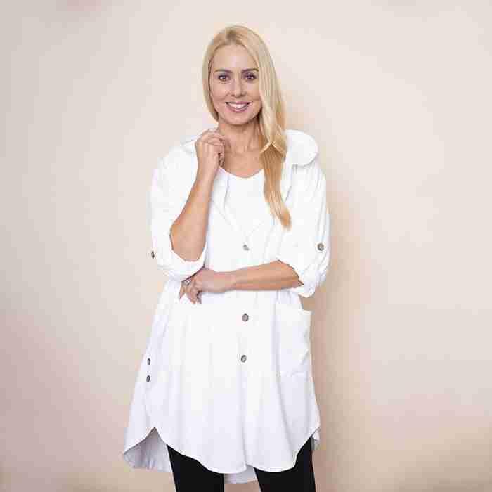 Nessa Hoody(White)