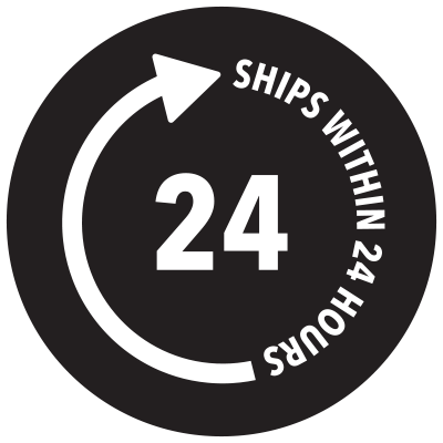 Ships within 24 hours