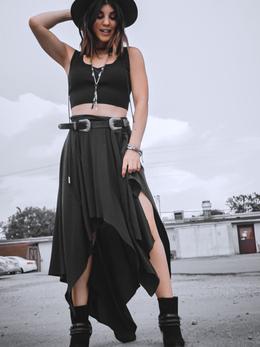 The Rhiannon Boho Maxi Skirt