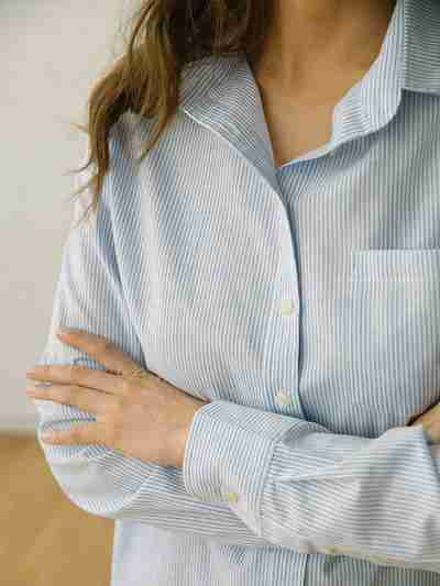 Sustainable Linen Fabric - 101 Margot Button-Up