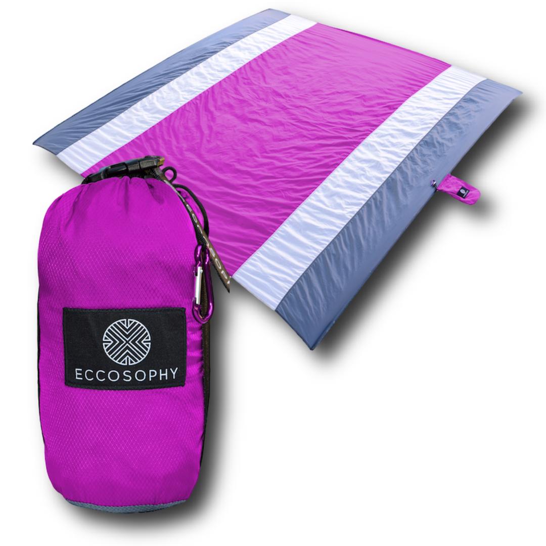Purple Beach Blanket