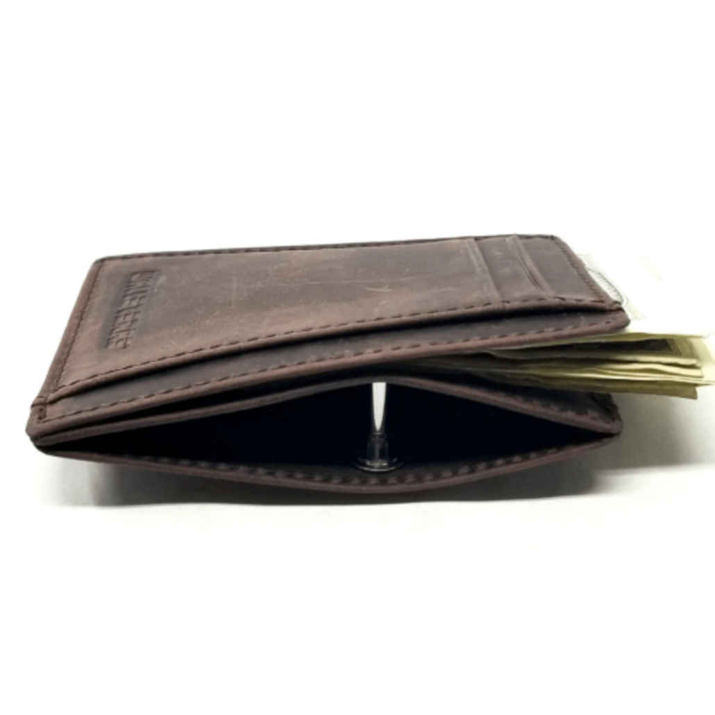 RFID Front Pocket Wallet and Card Holder with ID Window - DEC