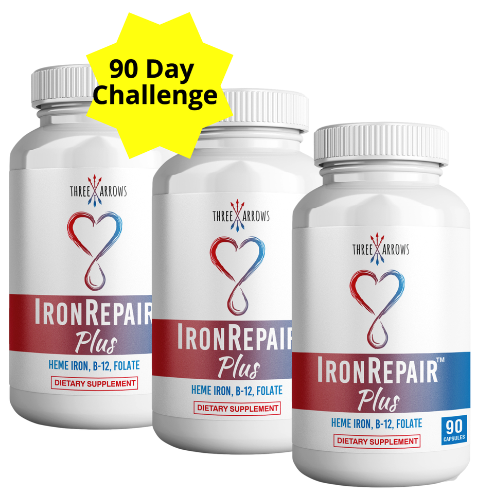 Three Arrows Iron Repair natural Heme Iron Supplement