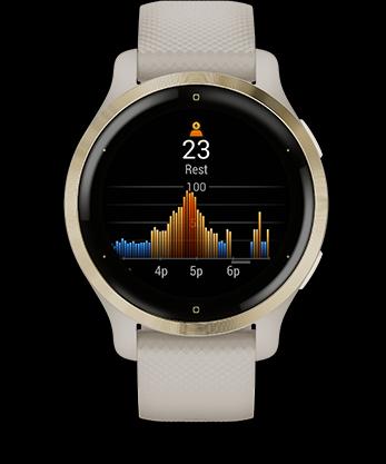 Garmin Venu 2 GPS Smartwatch - All Day Stress Tracking