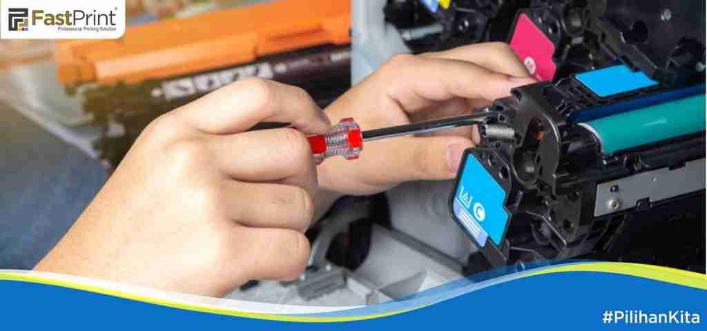 masalah pada printer, hasil print bergaris, spooling printer, lipatan saat mencetak, kertas macet