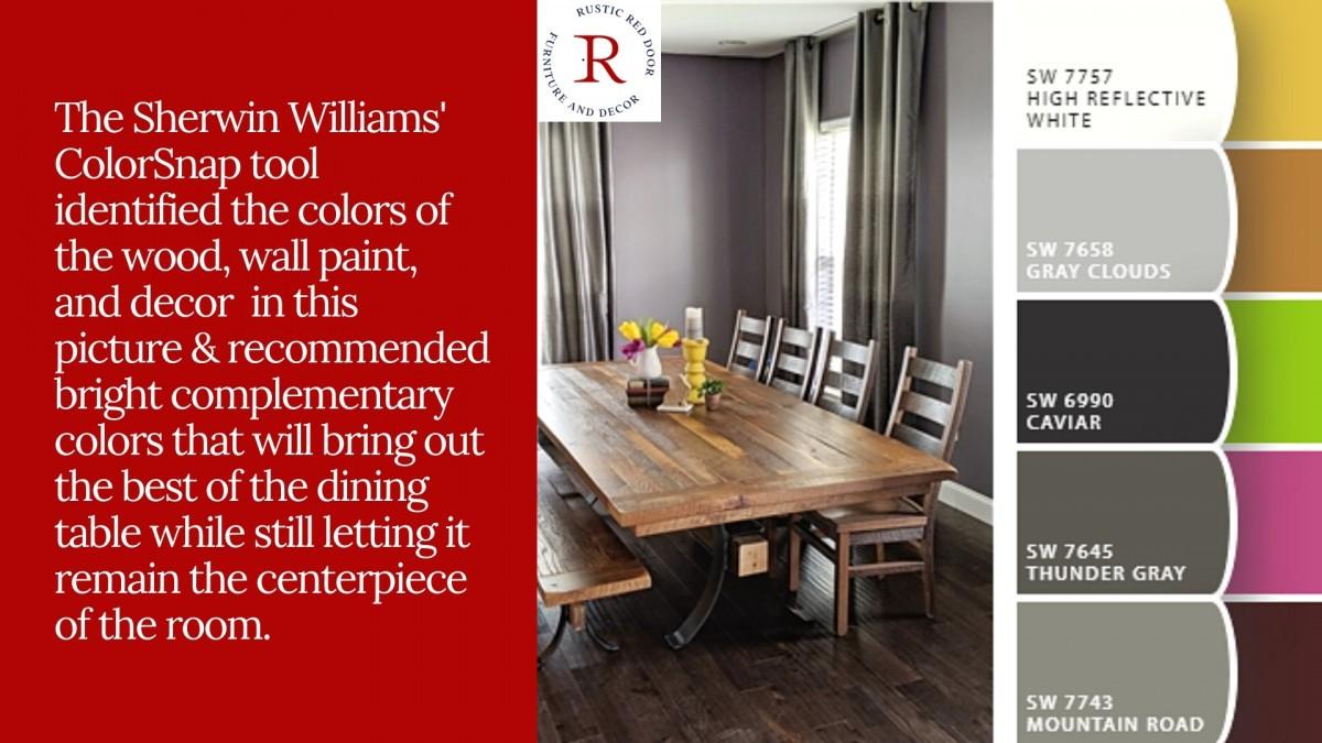 Rustic Dining Room Table Decor Ideas