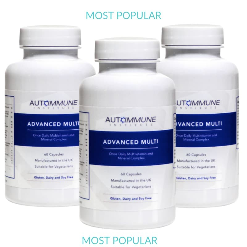 Advanced Multi - Multivitamin and Mineral Complex (with 5-MTHF, D3, K2, B12, CoQ10 and much more!)