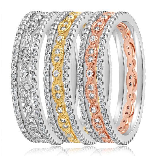 The Juliana 3 Ring Set