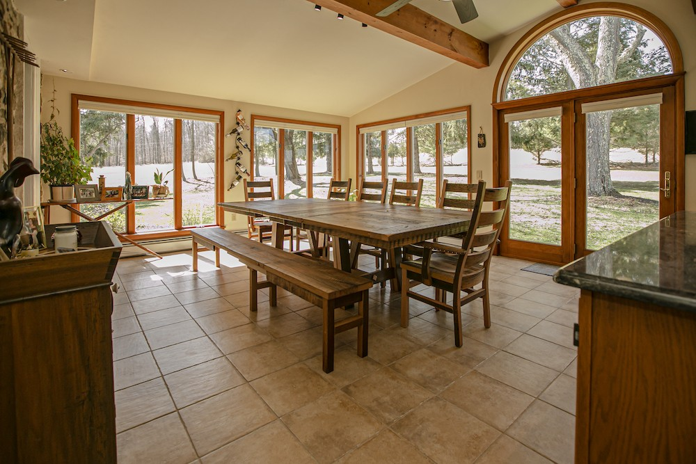 Reclaimed Oak Barnwood Dining Table