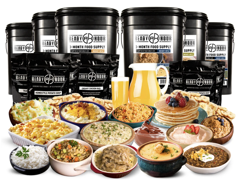 Special Partner Offer - 3-Month Emergency Food Supply (2,000+ calories/day)