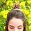Lea Messy Bun Hair (Gold)