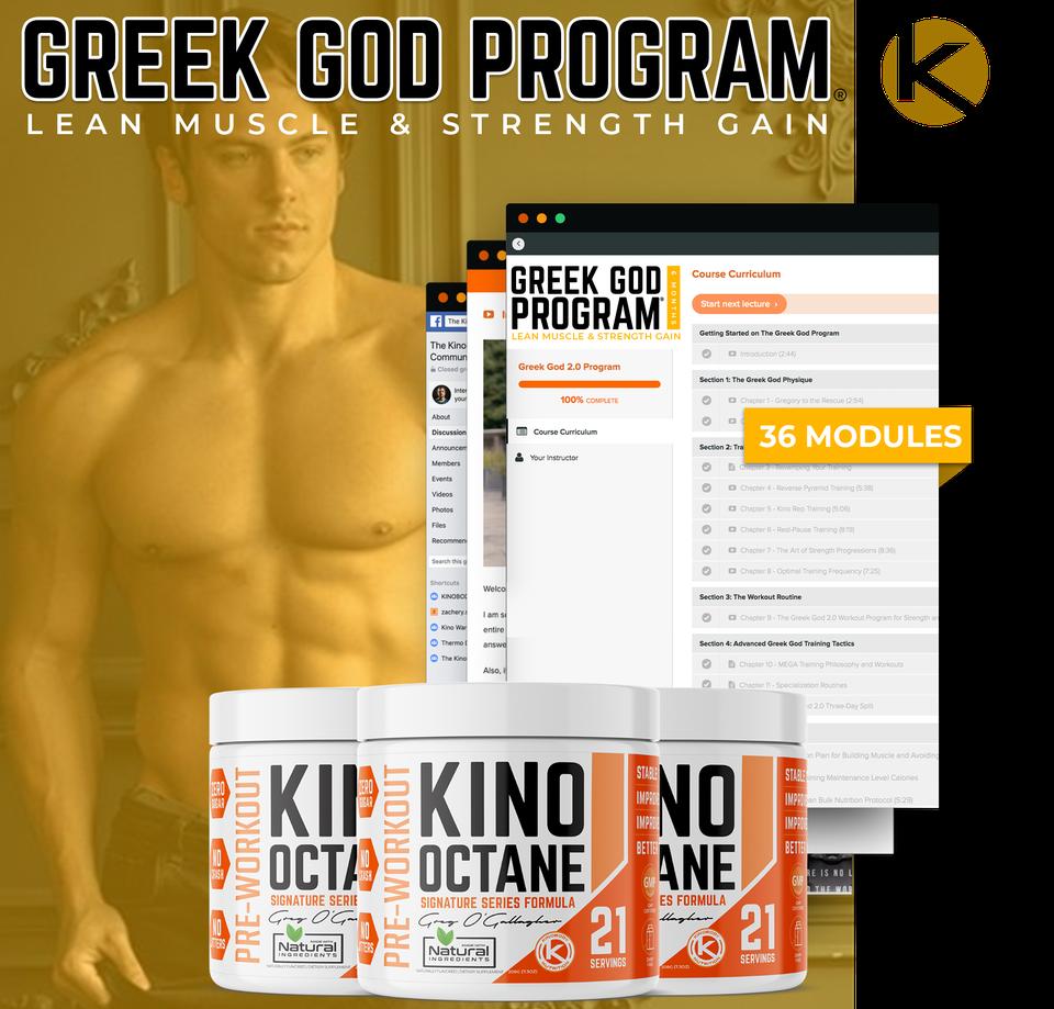 Greek God Program and 3 Octane