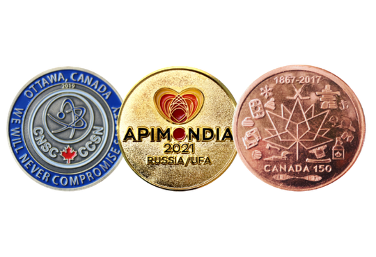 Custom Corporate Challenge Coins
