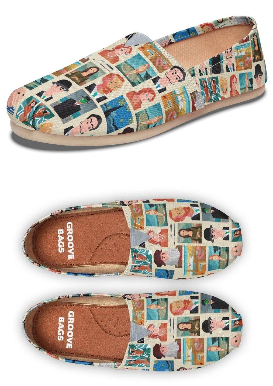 Famous Painters Casual Shoes