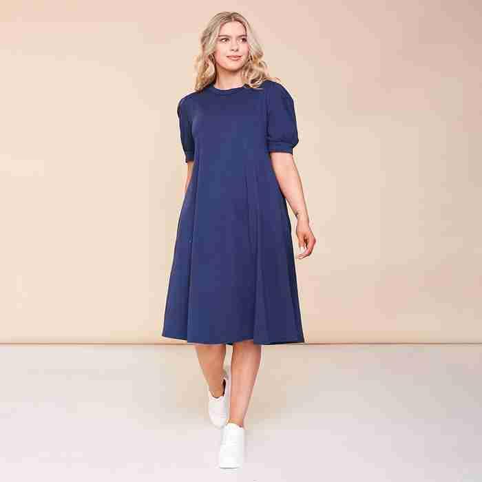Annie Dress(Navy)