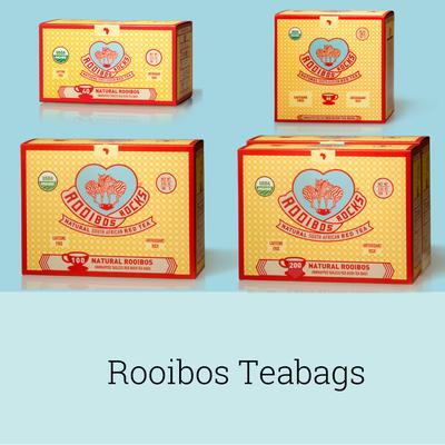 Rooibos Rocks teabags