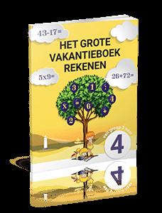 Het Grote Vakantieboek Rekenen - van groep 3 naar groep 4
